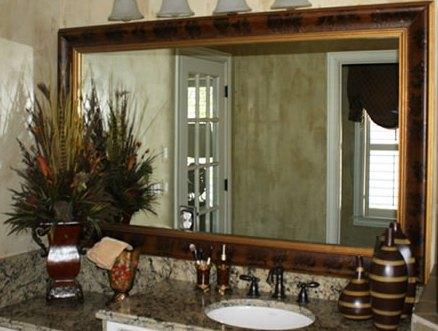 custom framed mirrors