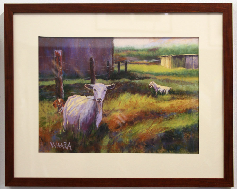Maui artists picture it framed Christine Waara soft pastel
