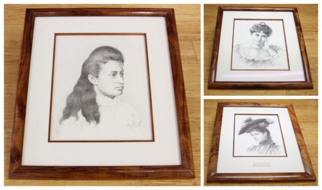 Koa frame, Paper Matting, Koa Fillet